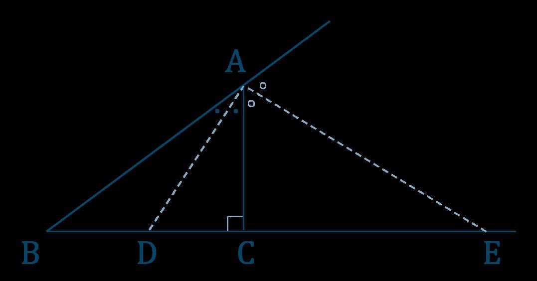 数学A|角の二等分線と比の使い方とコツ | 教科書より詳しい高校数学